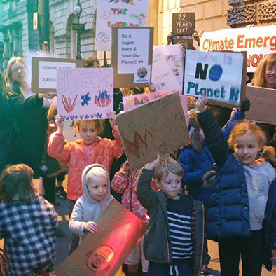 Declare a Climate Emergency Protest at BANES Council