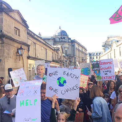FACE at Youth Climate Strike Protests